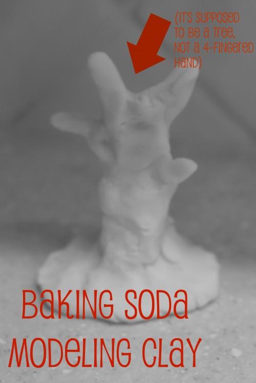 modelingclay 500x749 Baking Soda Modeling Clay