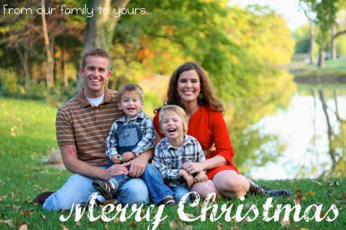Christmas Card 500x333 In Lieu of Christmas Cards...