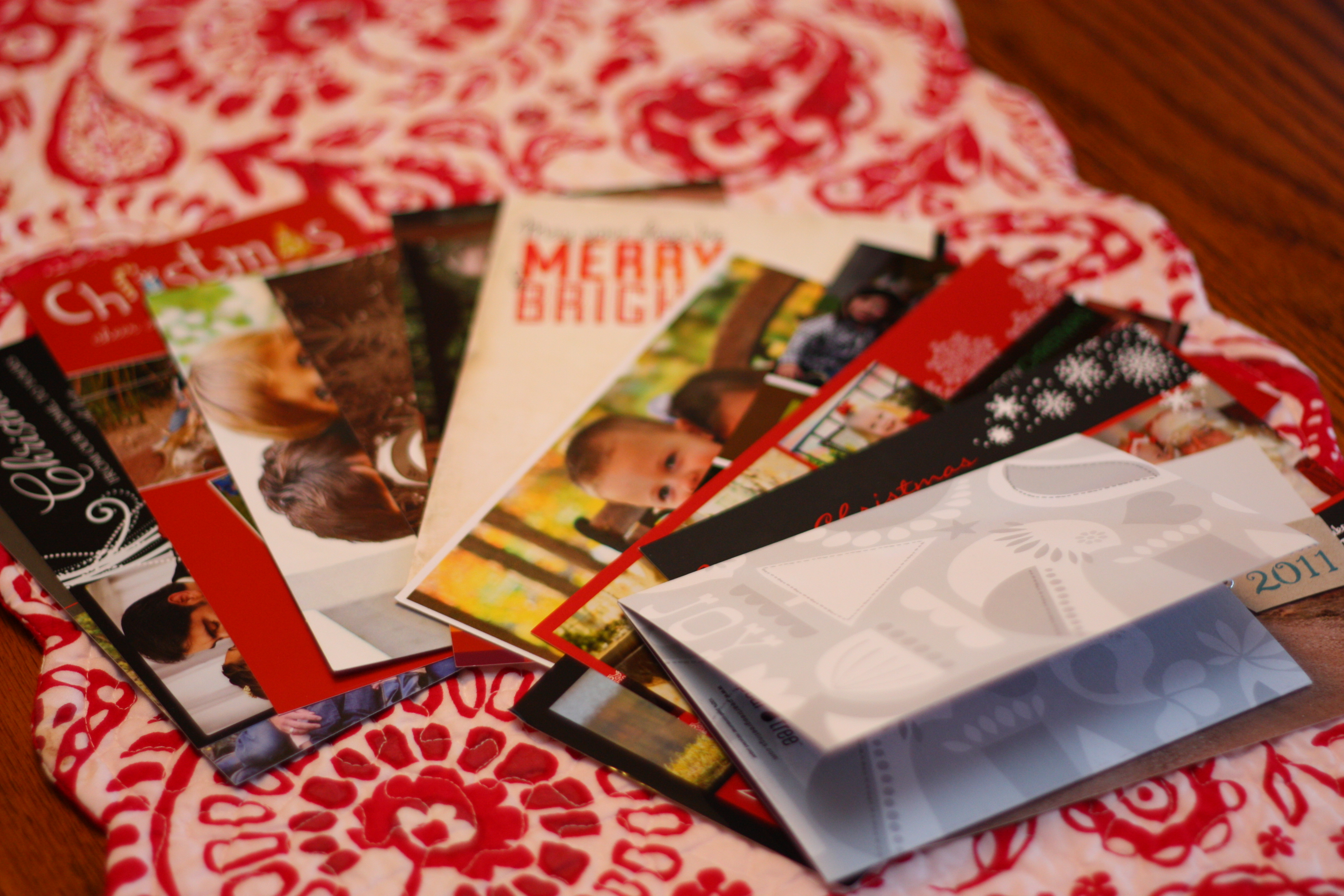 What to do with your Christmas Cards now that Christmas is over ...