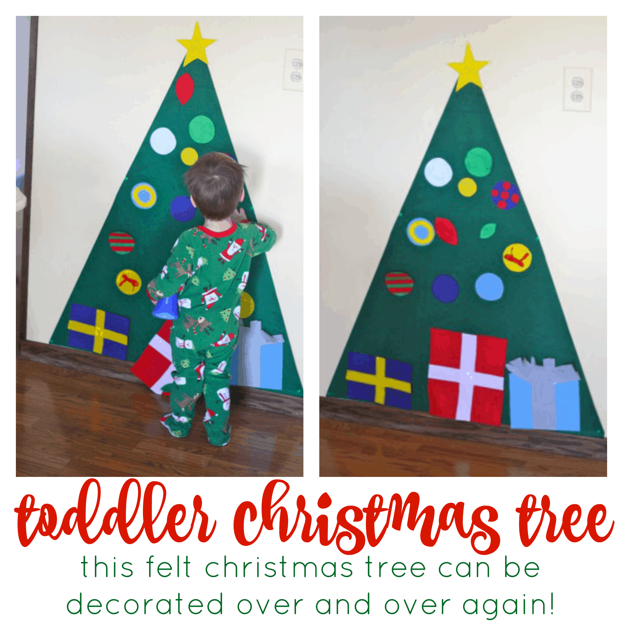 Kid-Friendly Christmas Tree - I Can Teach My Child!