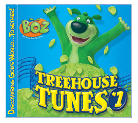 Treehouse Tunes Boz the Bear Prize Packs:  Product Review & Giveaway (5 winners)