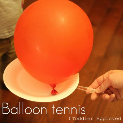 balloon tennis 500x500 Show and Share Saturday Link Up!