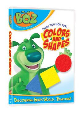 colors and shapres Boz the Bear Prize Packs:  Product Review & Giveaway (5 winners)