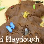 mud playdough 150x150 New Year Glitter Playdough