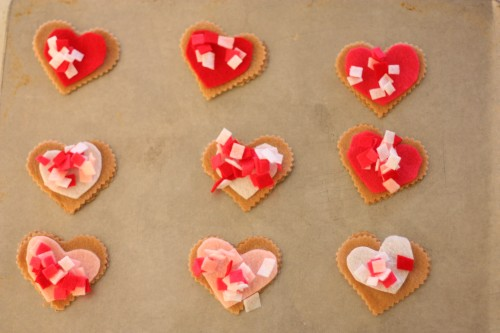 IMG 0635 500x333 Pretend Play:  Valentine Cookie Bakery