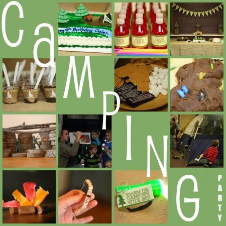Awesome Ideas For A Camping Birthday Party I Can Teach My Child