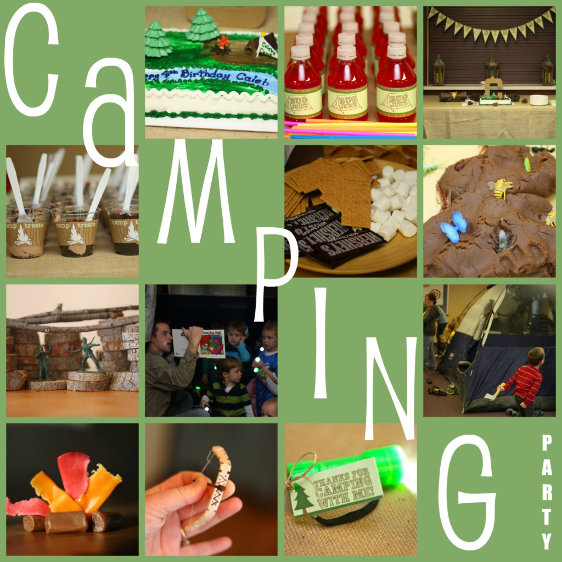 Birthday Party Activities: Camping Birthday Party