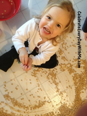 cheerio1 300x400 A Lesson from the Giant Cheerio Spill