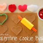 cookiebakery 150x150 Suncatcher Heart Garland