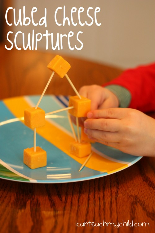 cubed cheese sculptures 500x749 Cubed Cheese Sculptures