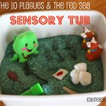 Bible-Based Sensory Tub:  Moses, the Plagues & and the Red Sea