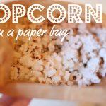 Popcorn in a Paper Bag