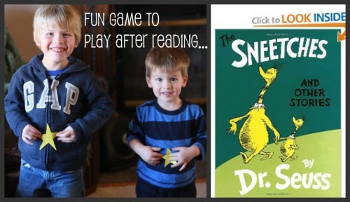 Dr Seuss The Sneetches Activity Game