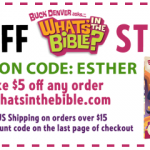 "Get $5 off a ""What's in the Bible?"" DVD"