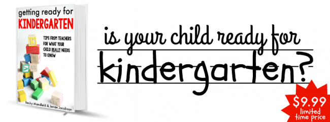 71 things you child needs to know before kindergarten is your child ready for kindergarten fandeluxe Images