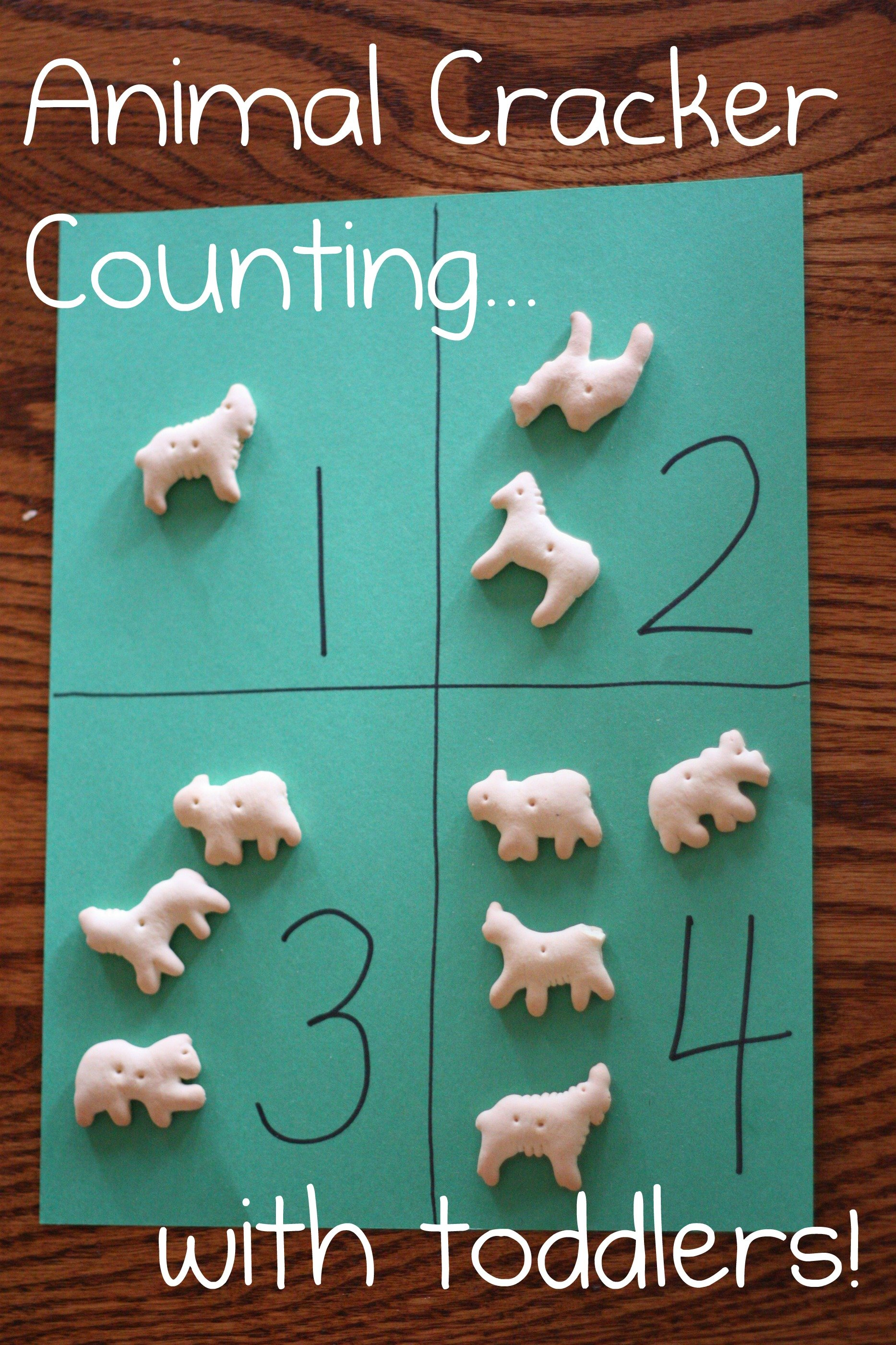 animal cracker counting activities toddler math correspondence crafts learning zoo preschool toddlers crackers games theme circus practice animals farm kindergarten