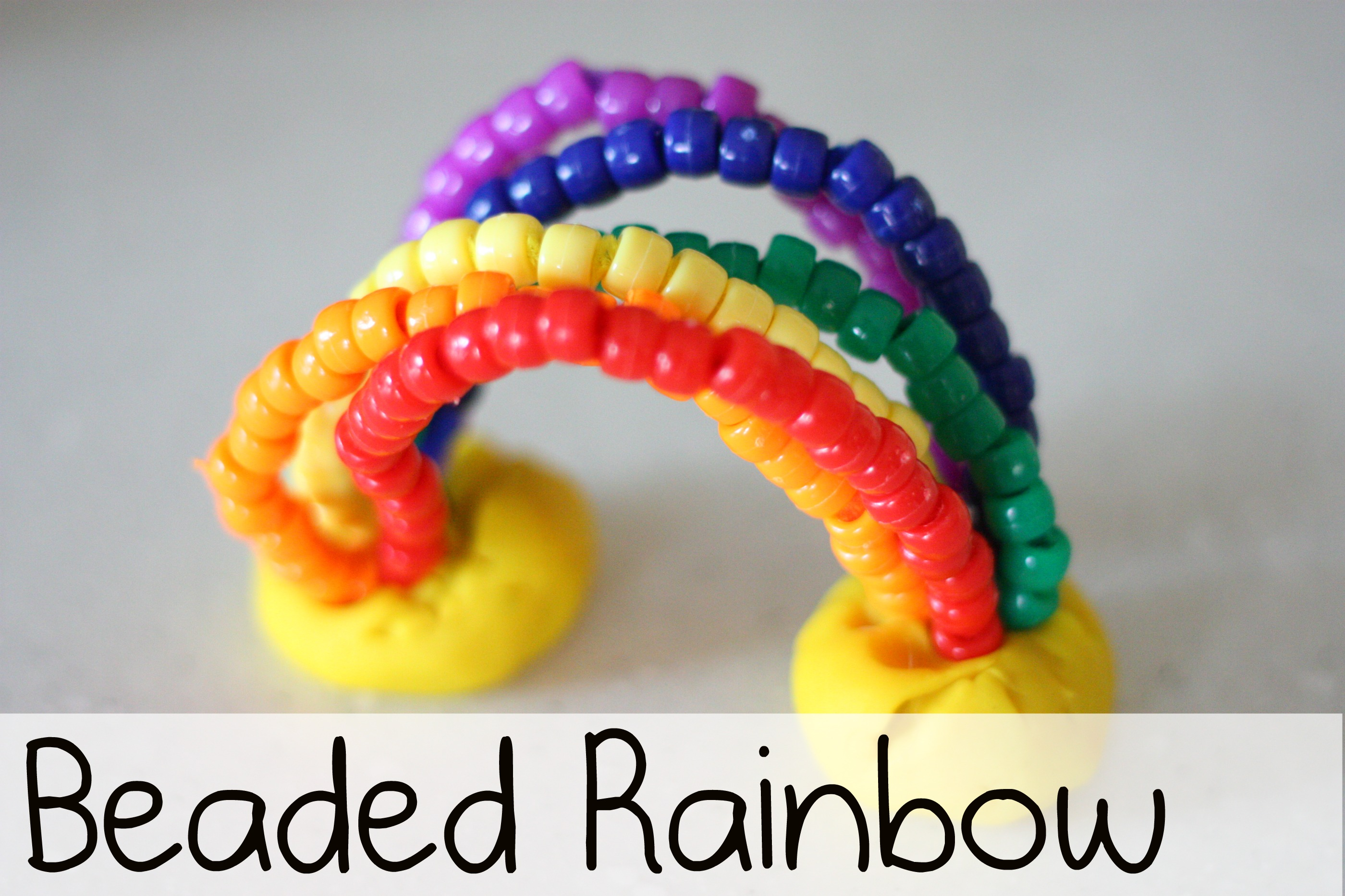 13d87cff1 Beaded Rainbow - I Can Teach My Child!