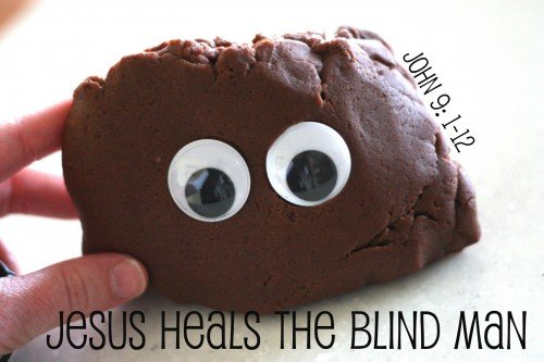 blind man 500x333 Jesus Heals the Blind Man