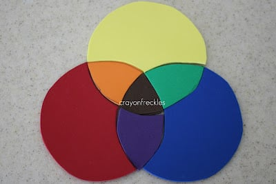 Show and share saturday link up i can teach my child - Show color wheel ...