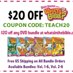 coupon1 150x150 Today Only:  Get Whats in the Bible? DVD for $5!