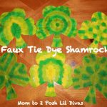 tie dye shamrocks 150x150 Show and Share Saturday Link Up!