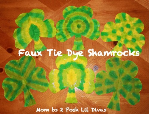 tie dye shamrocks 500x383 Show and Share Saturday Link Up!