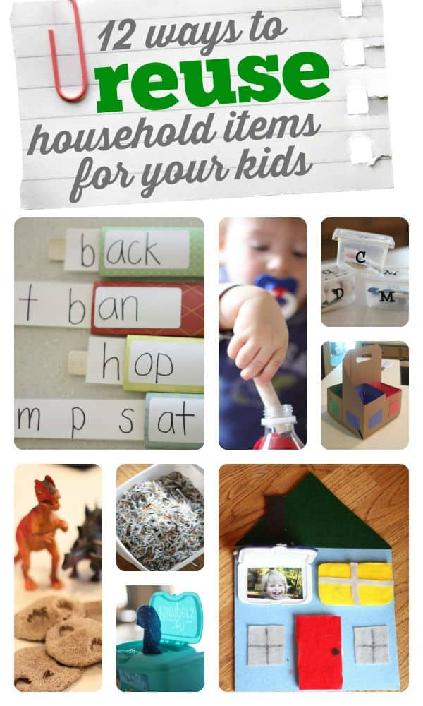 12 Ways To Repurpose Household Items For Your Kids
