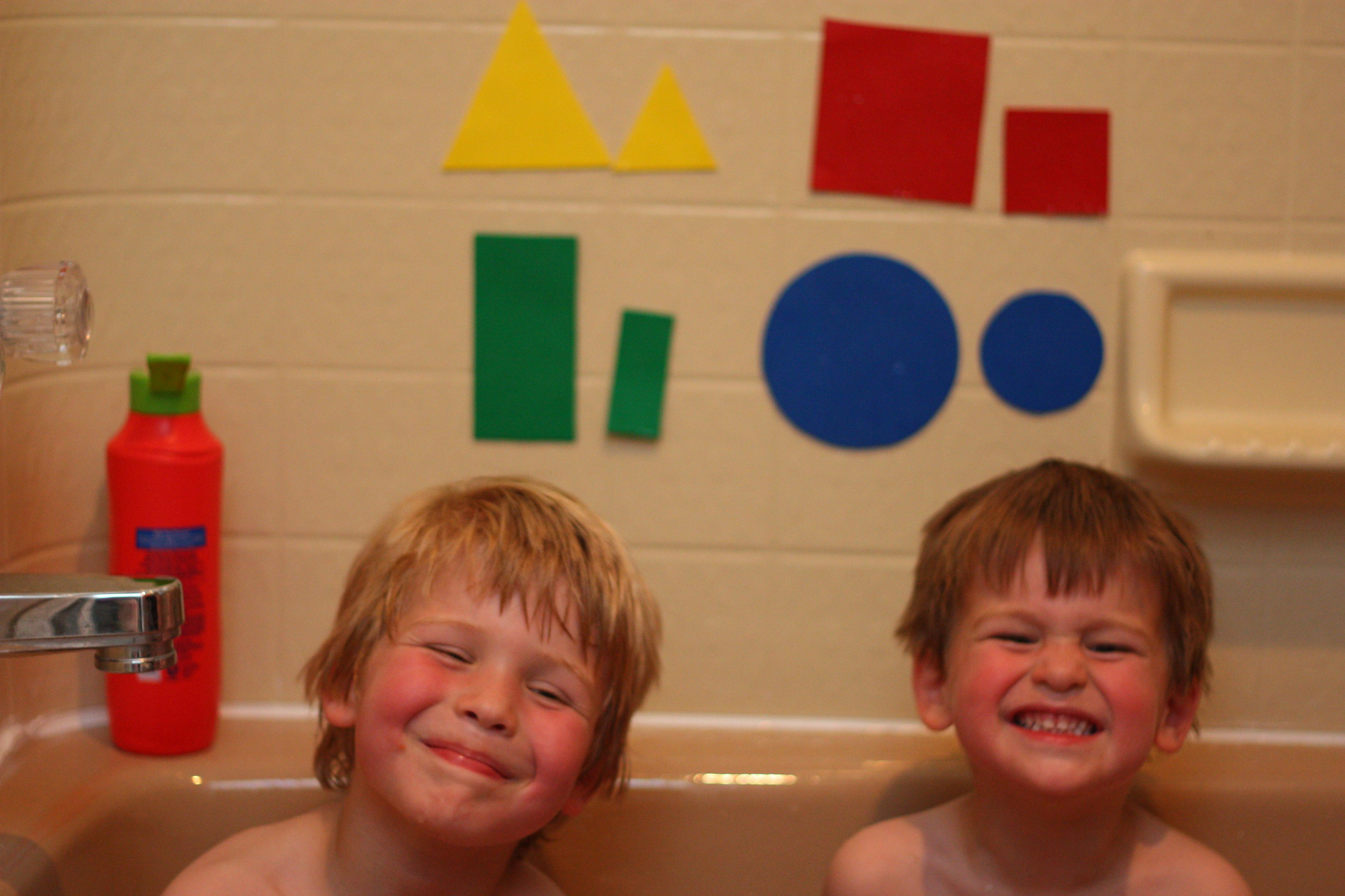 DIY Bathtub Shapes - I Can Teach My Child!