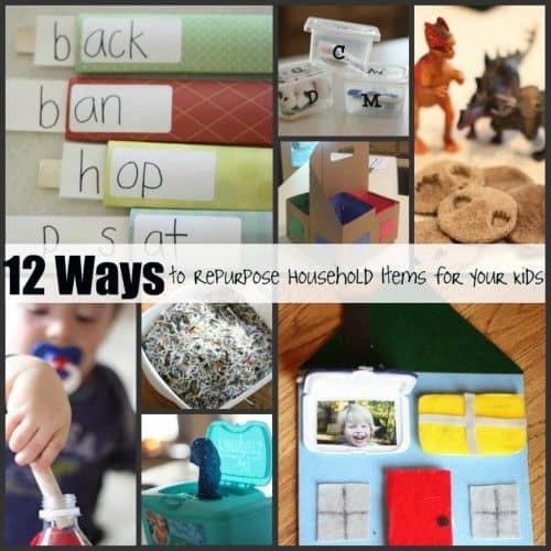 Repurpose Household Items For Your Kids