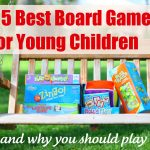 The 5 Best Board Games for Young Children…and why you should play them!