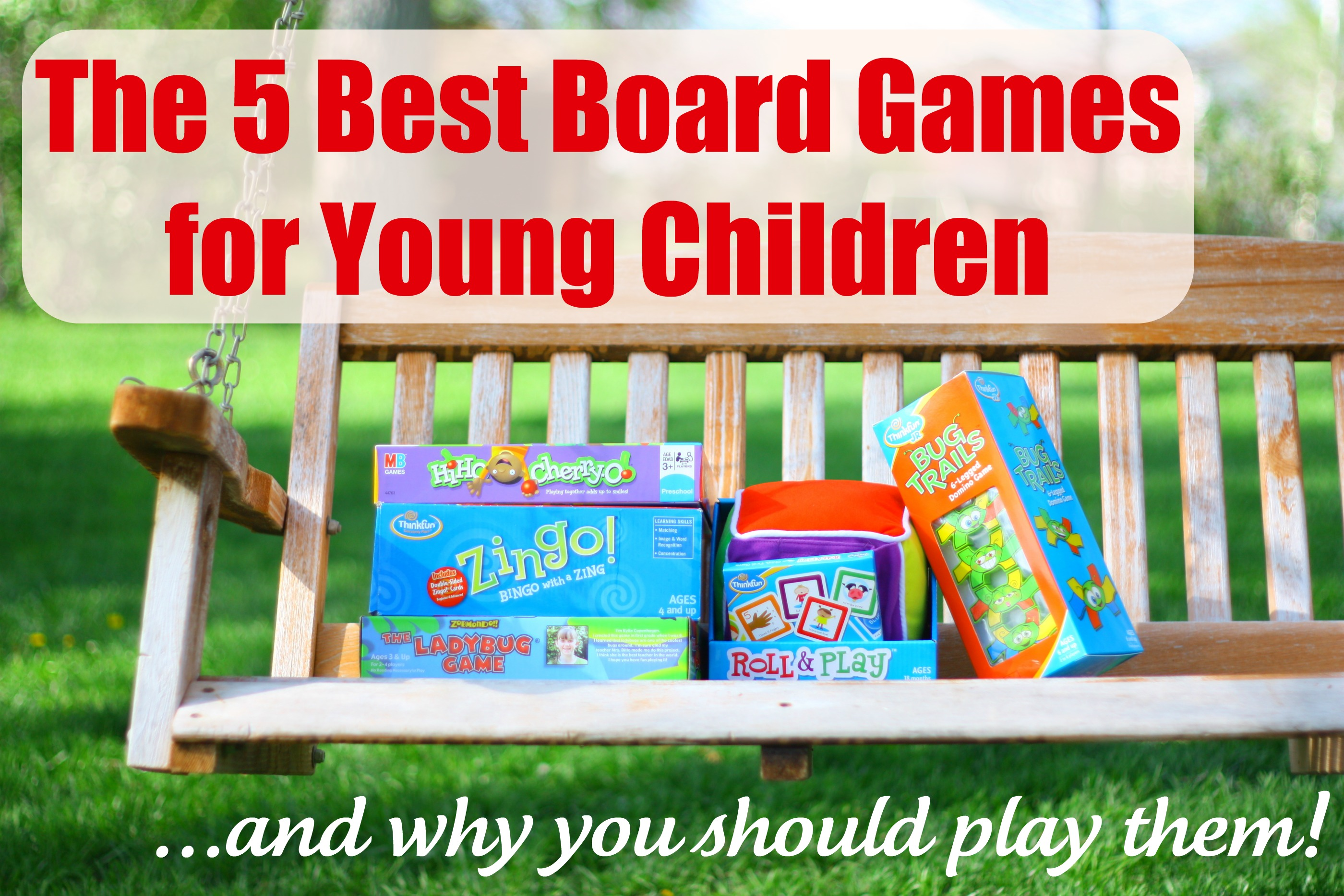 Awesome Board Games for 3 & 4 Year Olds To Play