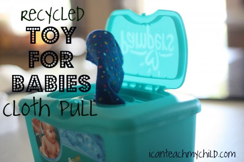 cloth pull 2 12 Ways to Repurpose Household Items for Your Kids