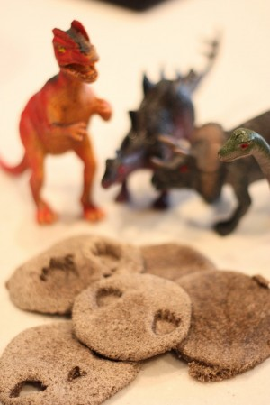 dinosaur fossils 300x449 12 Ways to Repurpose Household Items for Your Kids