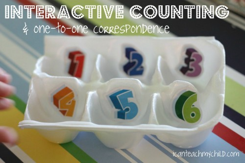 interactive counting 2 500x333 12 Ways to Repurpose Household Items for Your Kids