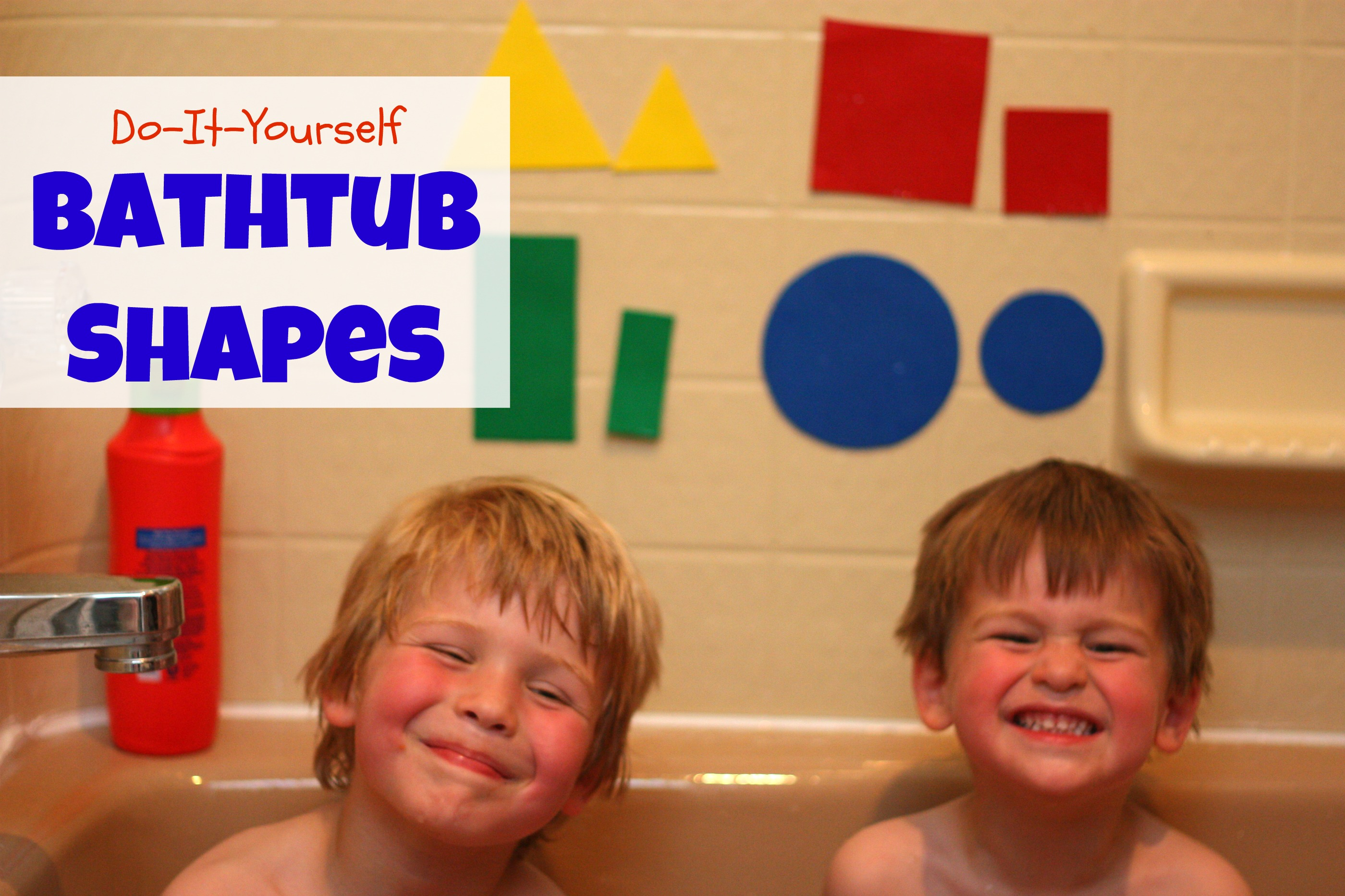 DIY Bathtub Shapes