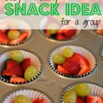 Snack Idea:  Individual Portions of Mixed Fruit