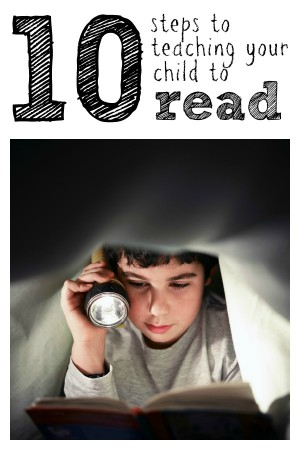 10 Steps to Teaching Your Child to Read 300x450 Reading