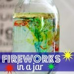 Fireworks in a Jar 150x150 Dot Art Flag (free printable)