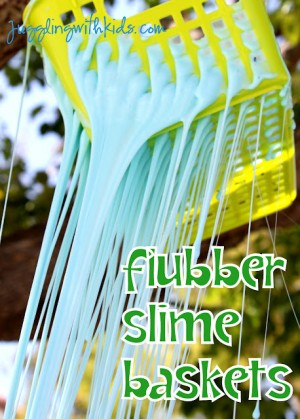 Flubber Slime Baskets 300x419 Show and Share Saturday Link Up!