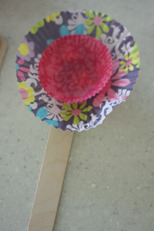 glue on the next cupcake liner