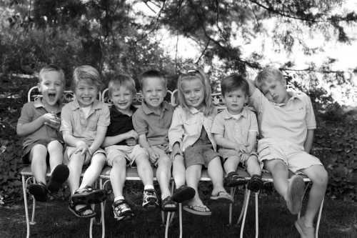 cute Grand kids photo