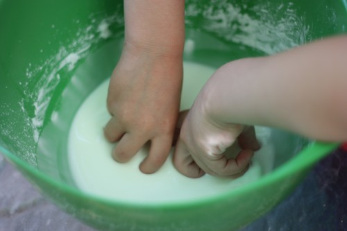 IMG 3290 500x333 Oobleck:  Liquid or Solid?
