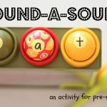 Pound a Sound 150x150 Floor Tape Letters