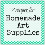 art supplies 150x150 Make It: Mini Chalkboard