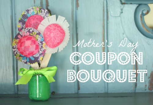 coupon bouquet 500x343 Mothers Day Coupon Bouquet