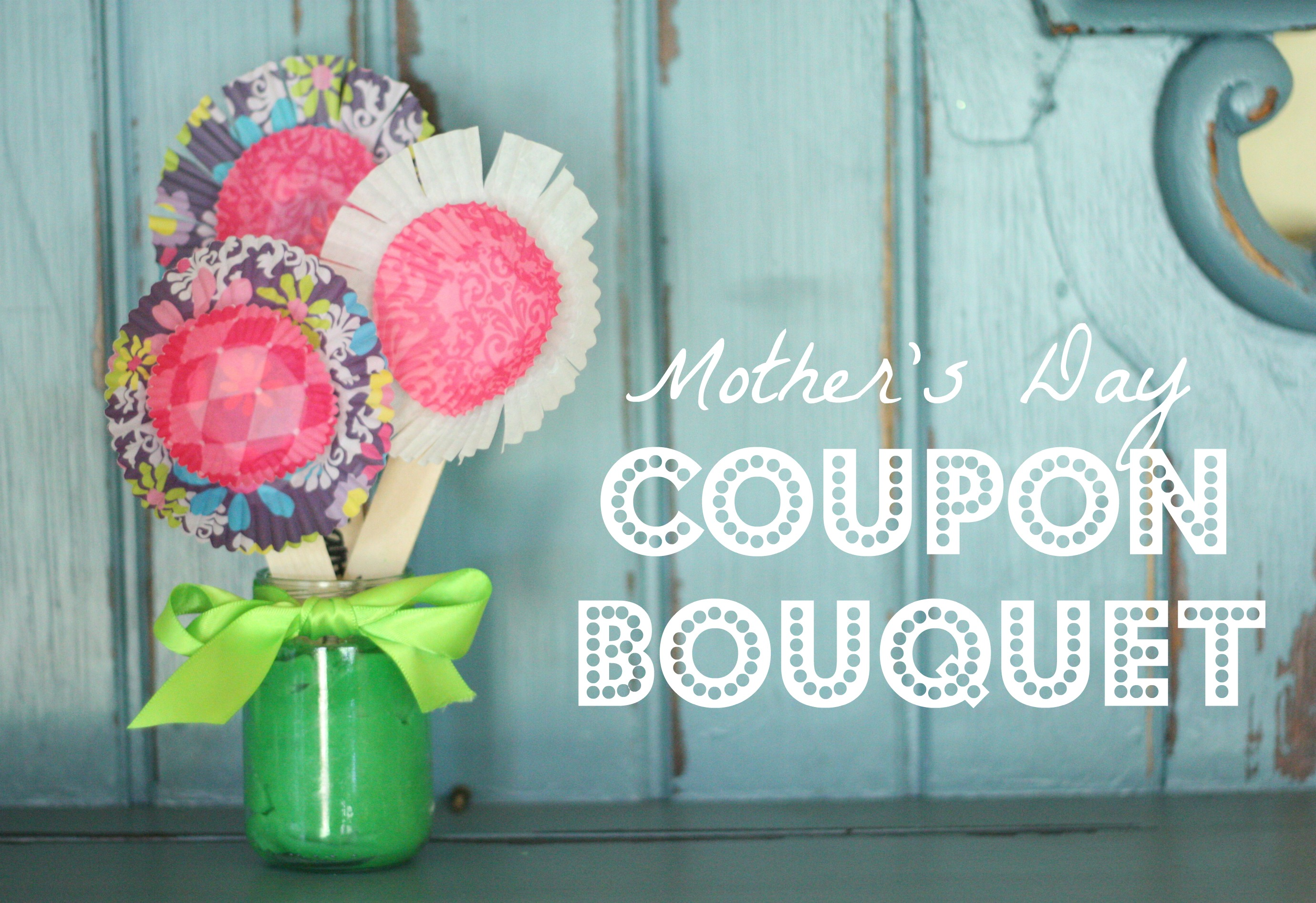 Mothers Day Coupon Bouquet I Can Teach My Child