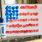 Dot Art Flag Free Printable 150x150 Fourth of July