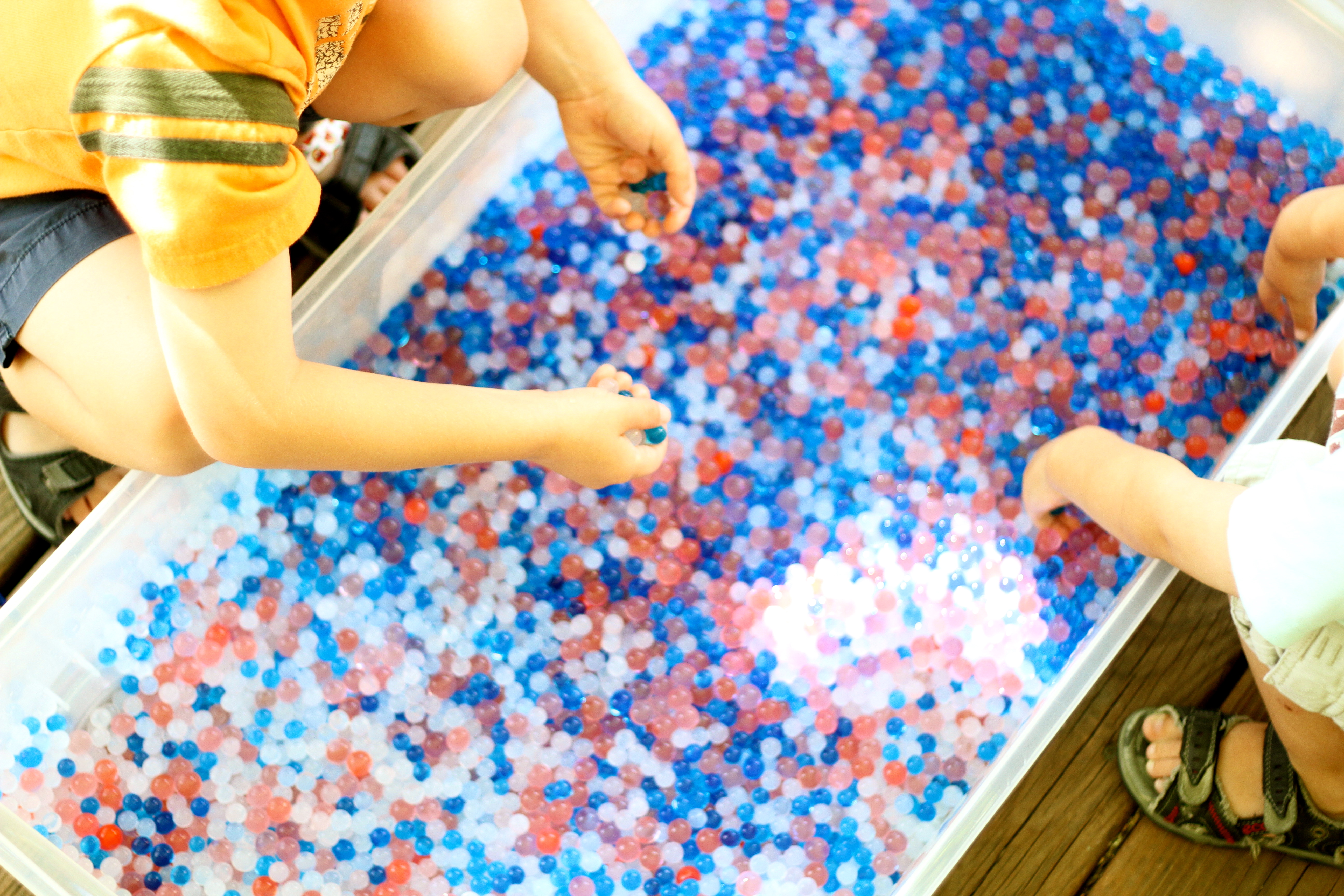 4th Of July Fun With Water Beads I Can Teach My Child