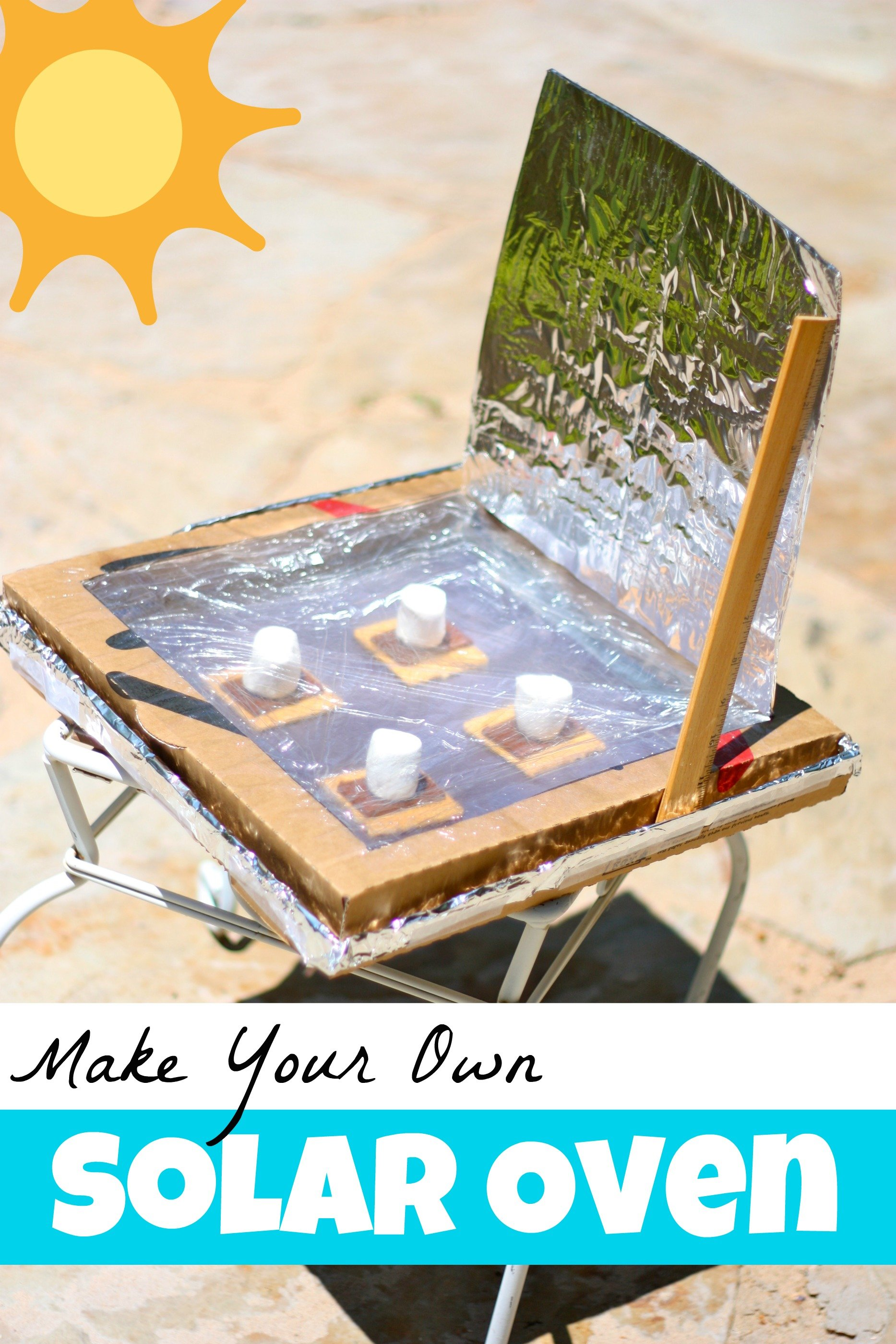 Make your own solar oven i can teach my child for How much can you save building your own house