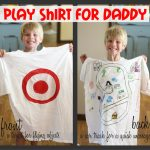 Play Shirt for Daddy 150x150 Fathers Day Photo Idea